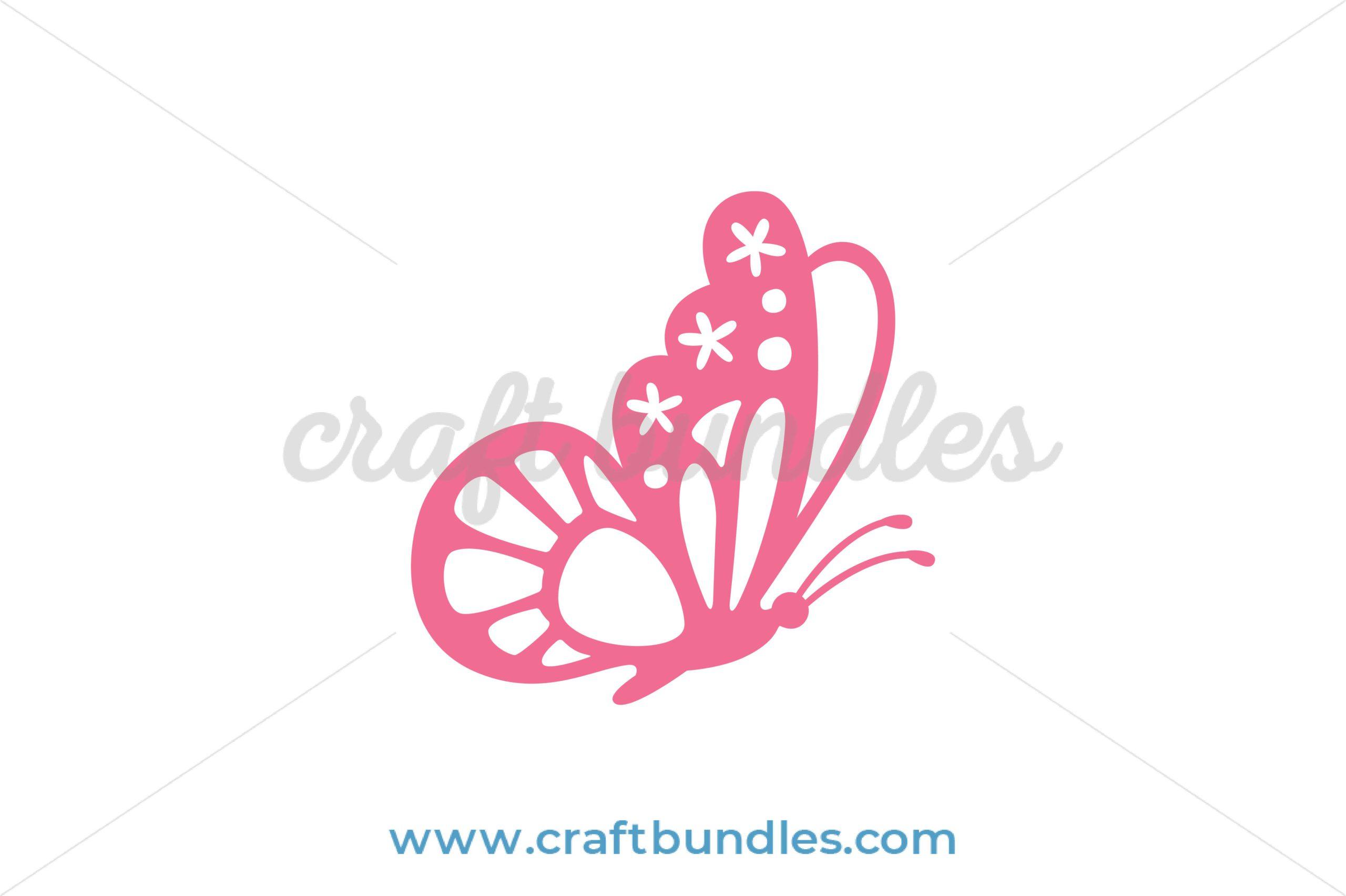 Butterfly Svg Cut File Craftbundles