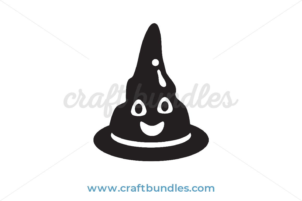 Witch Hat Svg Cut File Craftbundles