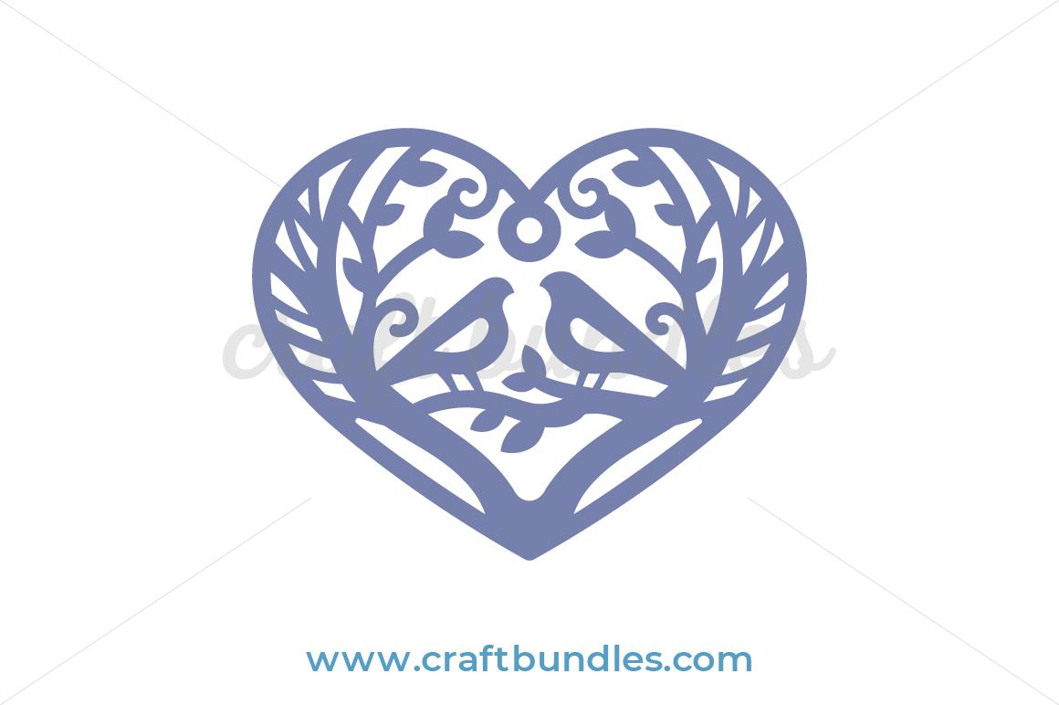Dainty Heart Svg Cut File Craftbundles