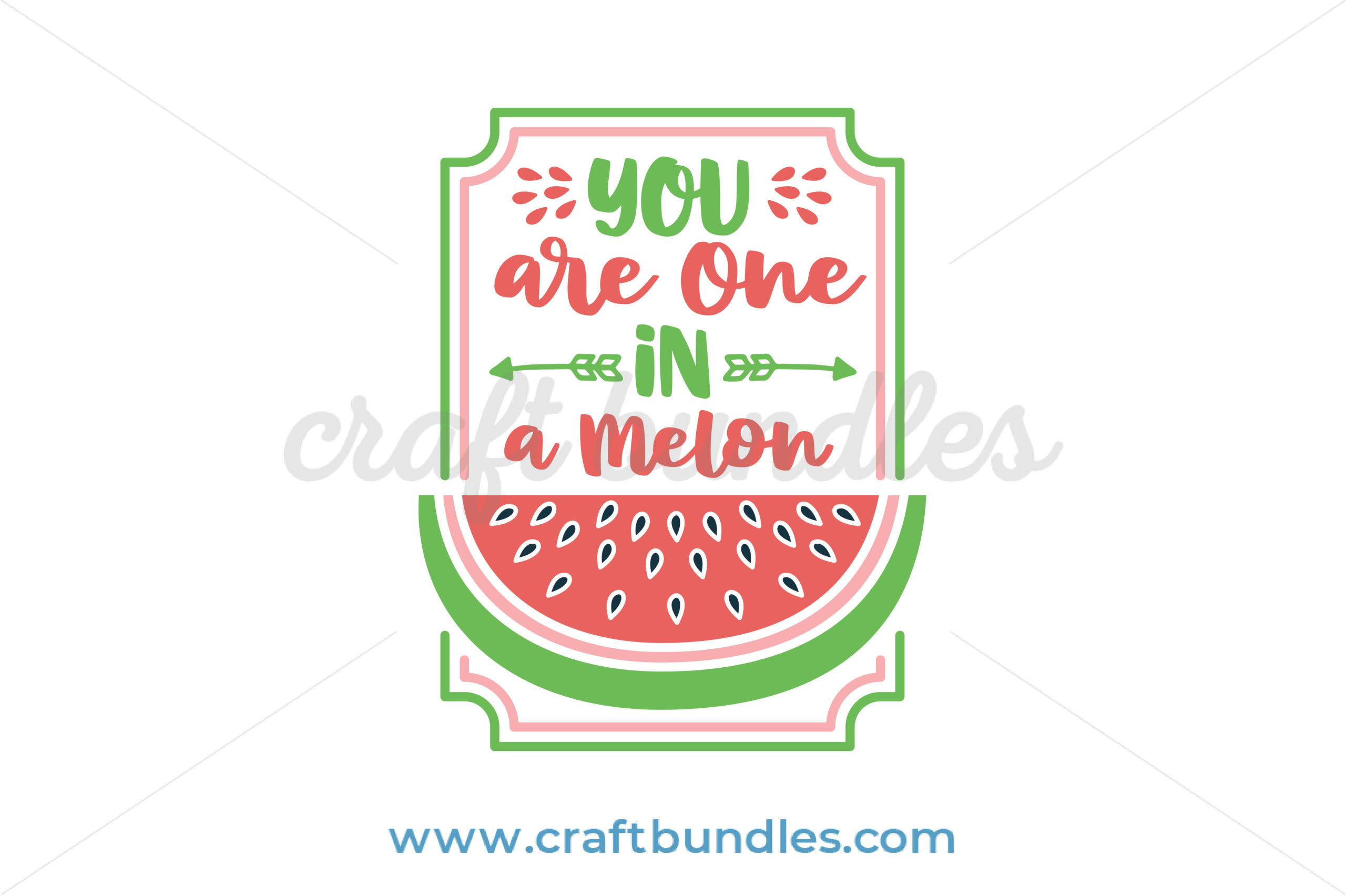 23+ One In A Melon Cutting File PNG